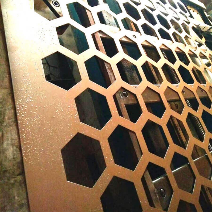 六角冲孔网