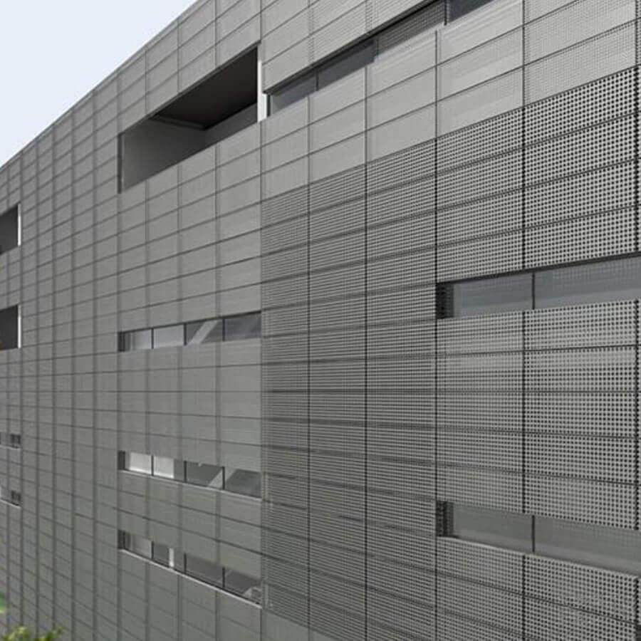 外墙装饰冲孔网