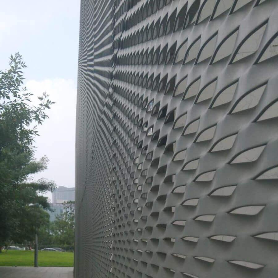 幕墙装饰冲孔网