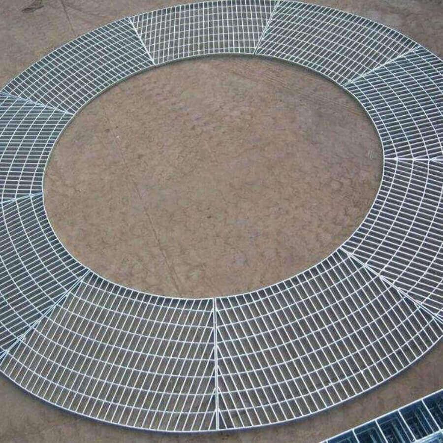 圆形钢格板