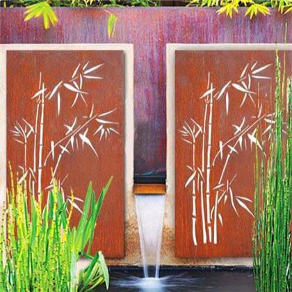 竹设计墙板